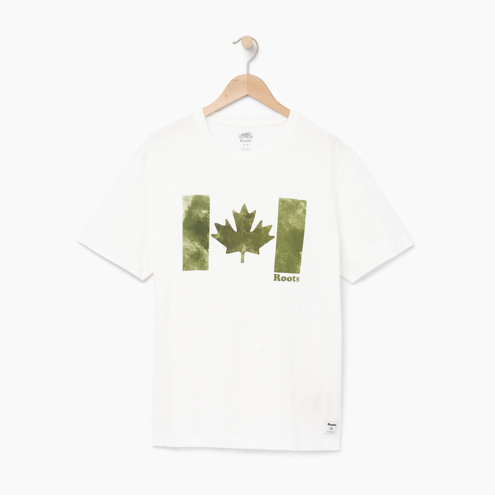 Roots-undefined-Mens Watercolour Flag T-shirt-undefined-A