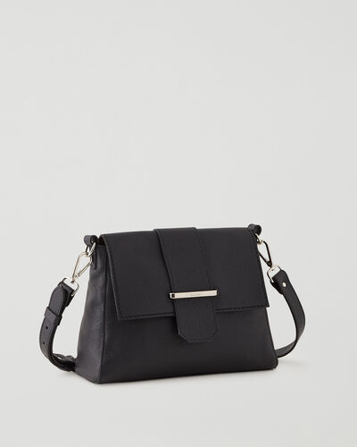 Roots-Leather Leather Bags-Phoebe Bag Cervino-Black-A