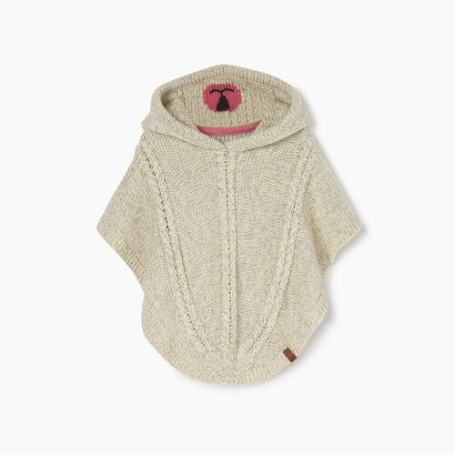 Roots-Kids Our Favourite New Arrivals-Toddler Critter Poncho-Light Fog-A