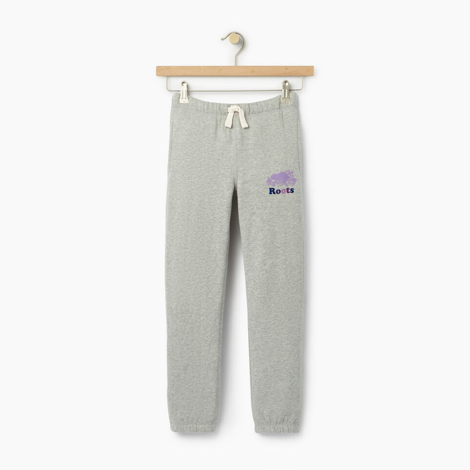 Roots-undefined-Pantalon en coton ouaté Roots original pour filles-undefined-A