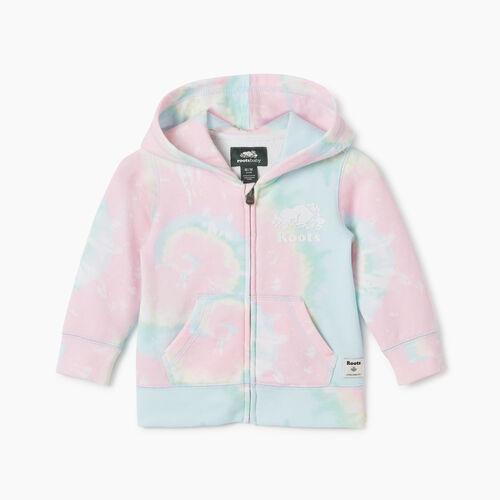 Roots-Kids New Arrivals-Baby Original Full Zip Hoody-Multi-A