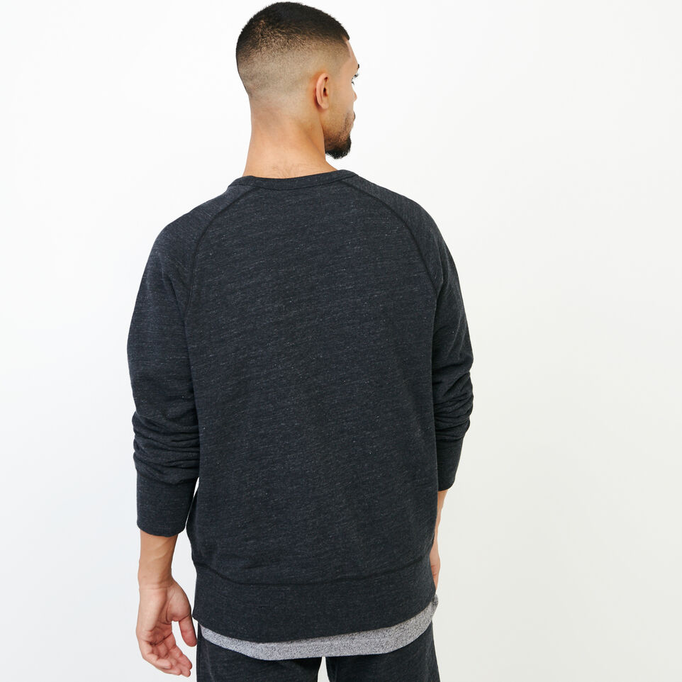Roots-undefined-50s Freedom Sleeve Crew Sweatshirt-undefined-D