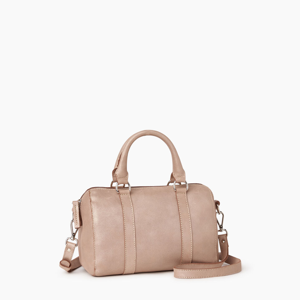 Roots-Leather New Arrivals-City Banff Bag-Champagne-C