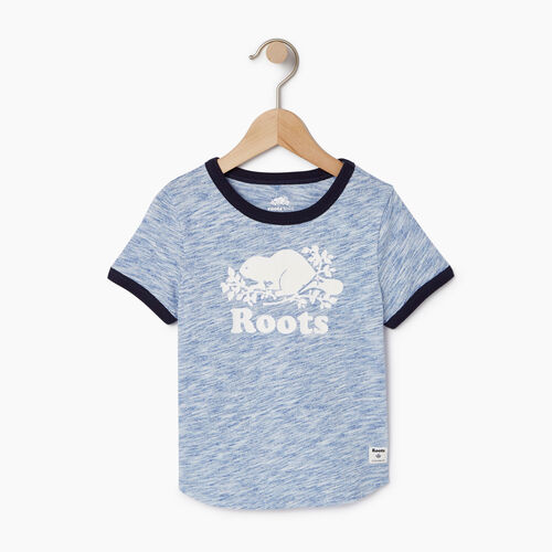 Roots-Clearance Kids-Toddler Roots Space Dye T-shirt-Active Blue-A