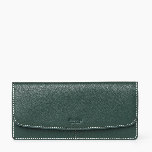 Roots-Women Wallets-Liberty Wallet Cervino-Forest Green-A