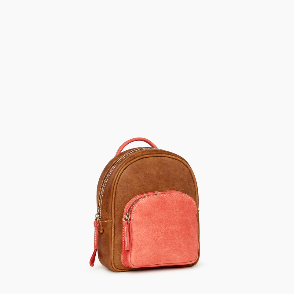 Roots-Leather  Handcrafted By Us Our Favourite New Arrivals-City Chelsea Pack - Colour Block-Coral-A