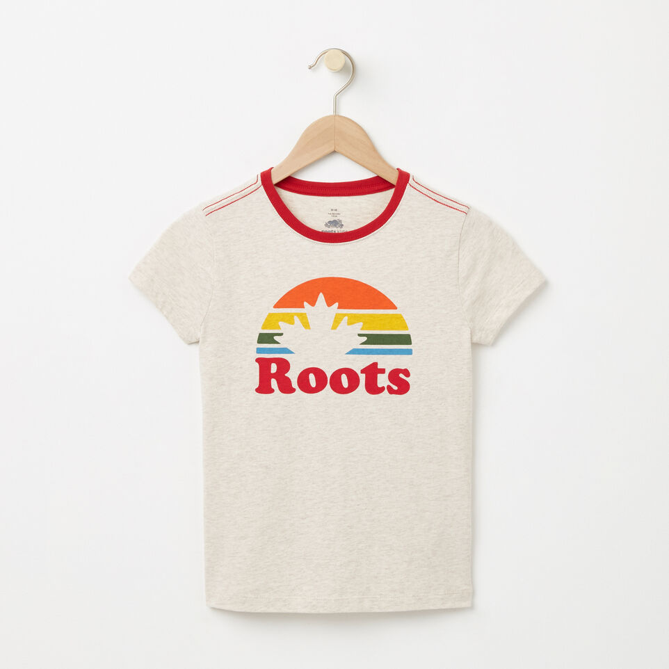 Roots-undefined-Filles T-shirt Érable Roots-undefined-A