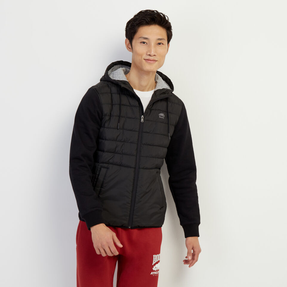Roots-New For February Journey Collection-Journey Hybrid Jacket-Black-A