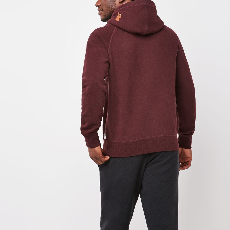 Roots-undefined-Original Leather Logo Hoody-undefined-D