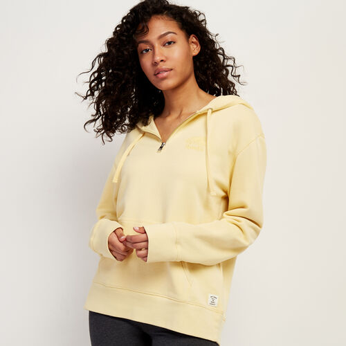 Roots-Women Clothing-Organic Olivia Cooper Hoody-Italian Straw-A