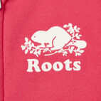 Roots-Clearance Kids-Girls Original Full Zip Hoody-Pink Flambé-D