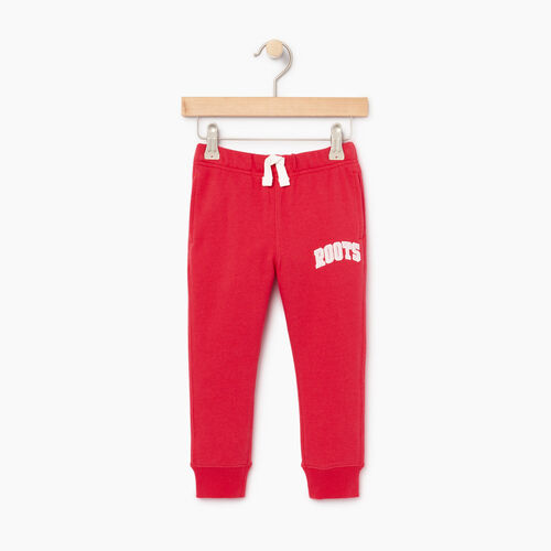 Roots-Kids Toddler Girls-Toddler Roots Varsity Sweatpant-Chrysanthemum-A