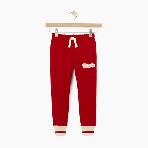 Roots-New For October Kids-Girls Cabin Sweatpant-Cabin Red-A