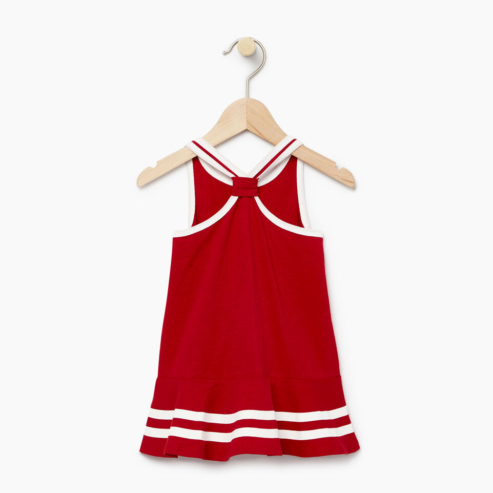 Roots-Kids Our Favourite New Arrivals-Baby Canada Tank Dress-Sage Red-B