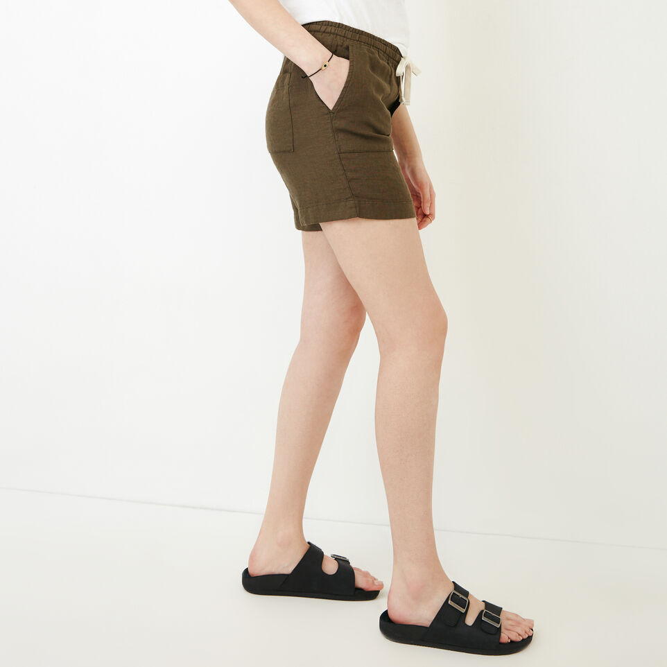 Roots-Women Our Favourite New Arrivals-Sadie Short-Fatigue-C
