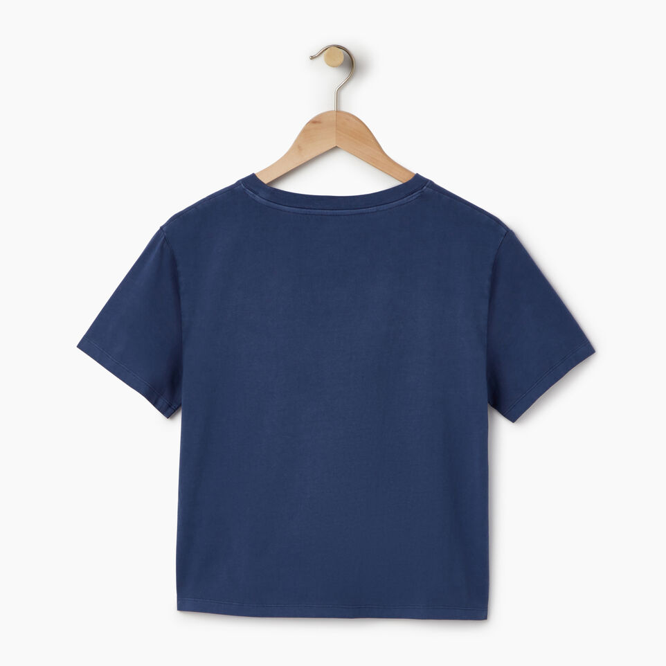 Roots-Women Our Favourite New Arrivals-Womens Sunkissed T-shirt-Sargasso Sea-B