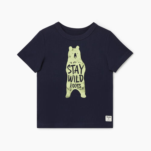 Roots-Kids Toddler Boys-Toddler Animal T-shirt-Navy Blazer-A