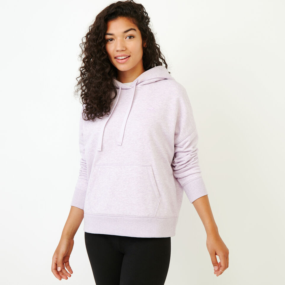 Roots-Women New Arrivals-Junction Hoody-Thistle Mix-A