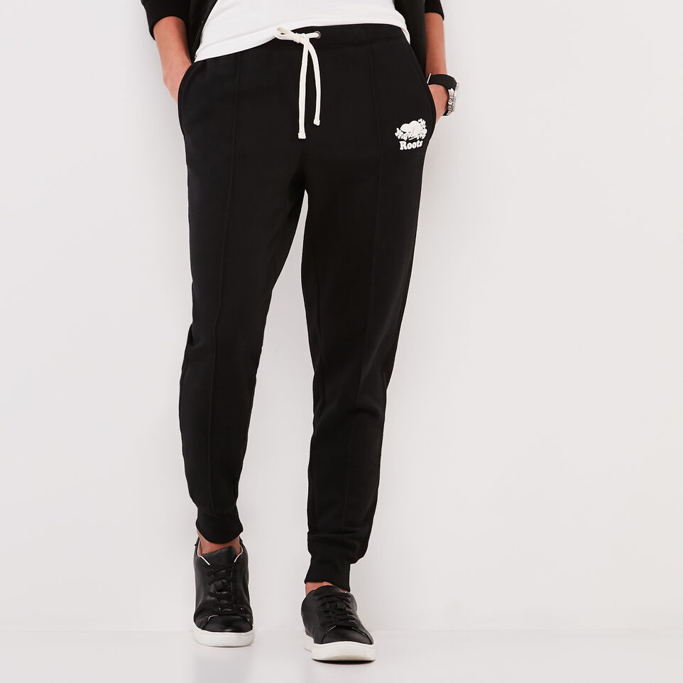 Roots-undefined-Pin Tuck Slim Cuff Sweatpant-undefined-C