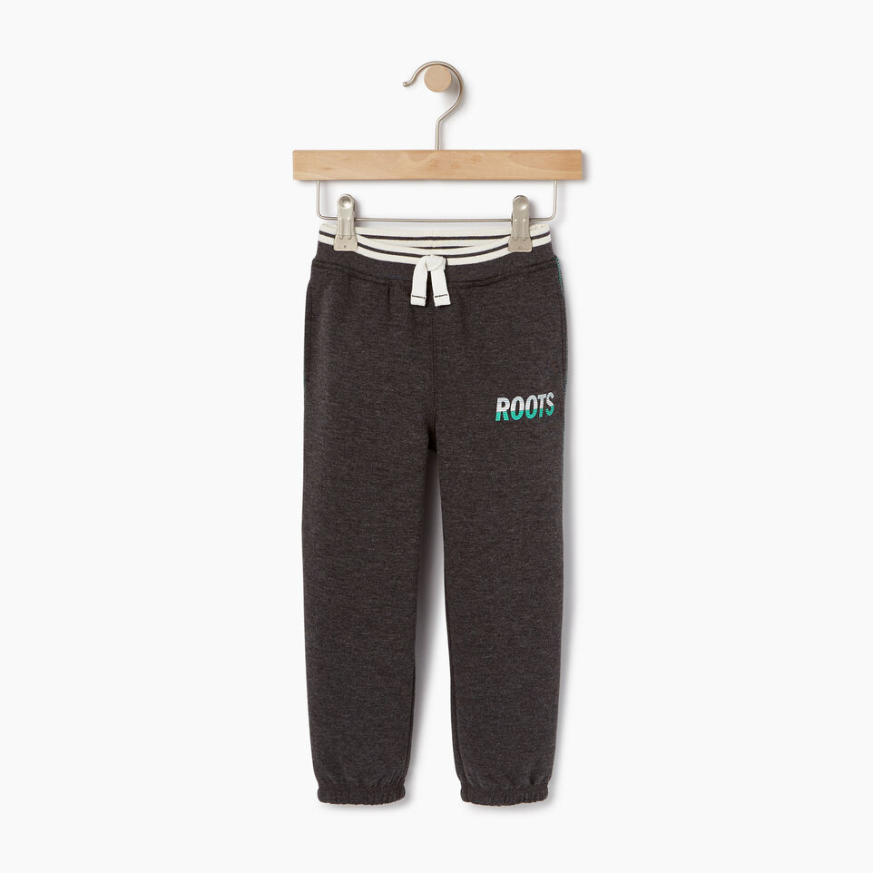 Roots-Kids Our Favourite New Arrivals-Toddler Roots Speedy Sweatpant-Charcoal Mix-A