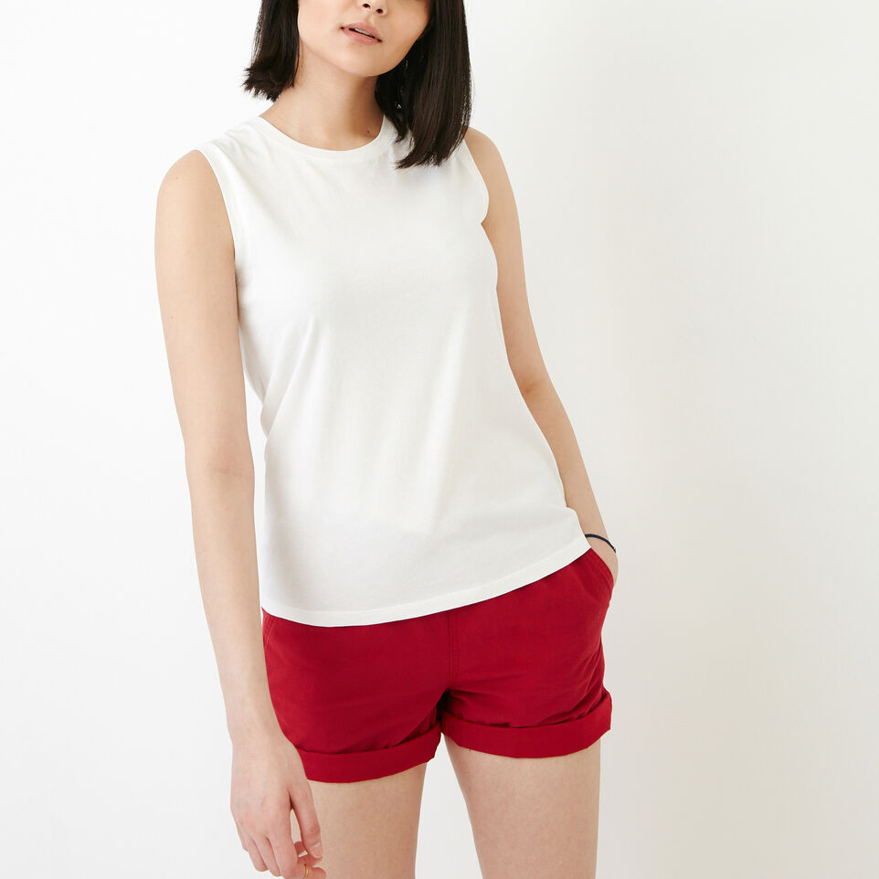 Roots-Women Our Favourite New Arrivals-Essential Tank-Ivory-A