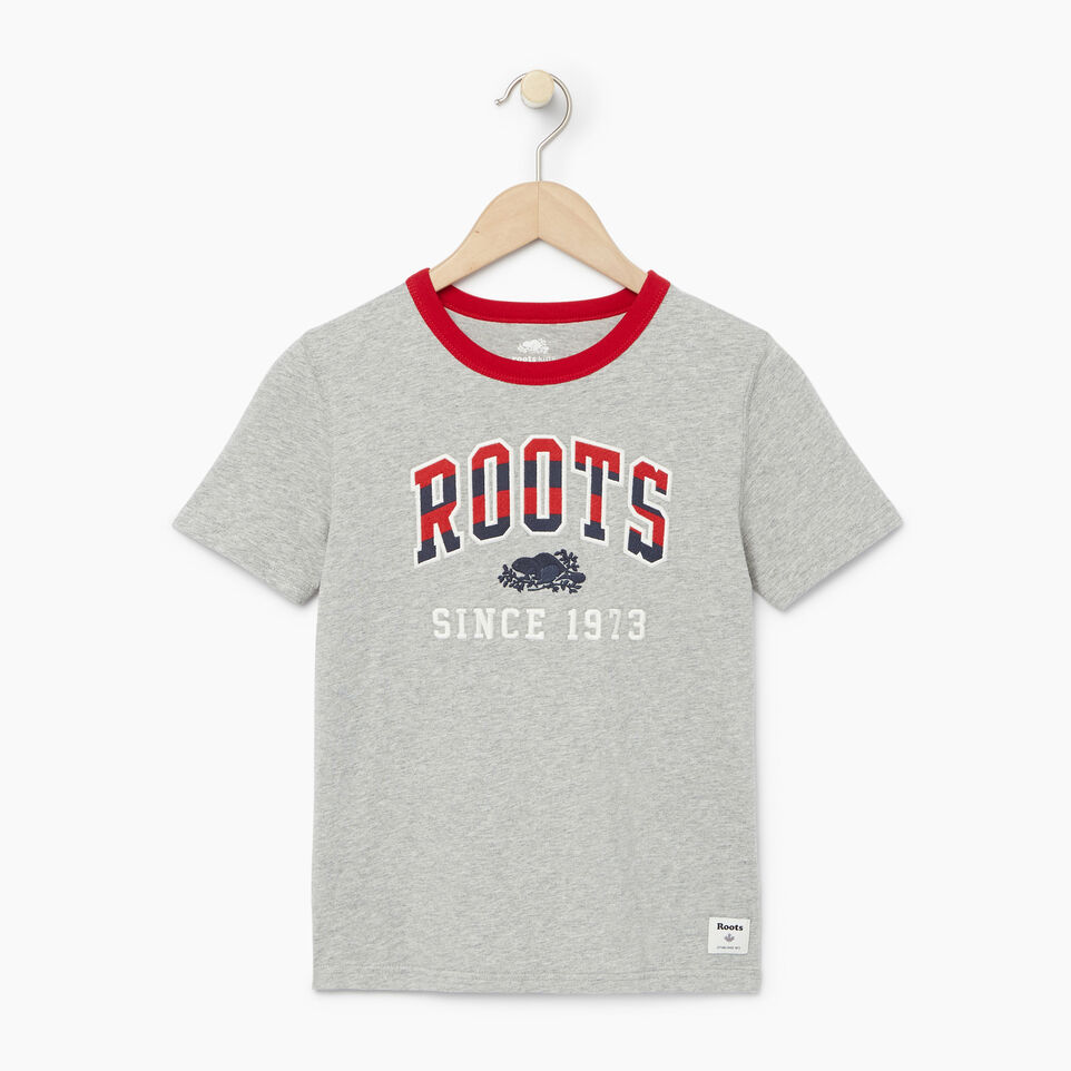 Roots-undefined-Boys Rainbow Arch Roots T-shirt-undefined-A