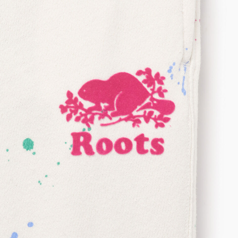 Roots-Kids Our Favourite New Arrivals-Toddler Splatter Sweatpant-Cannoli Cream-D