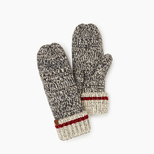 Roots-Women Our Favourite New Arrivals-Chunky Cabin Mitt-Grey Oat Mix-A
