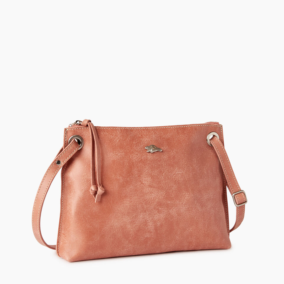 Roots-Leather  Handcrafted By Us Categories-Edie Bag-Canyon Rose-A