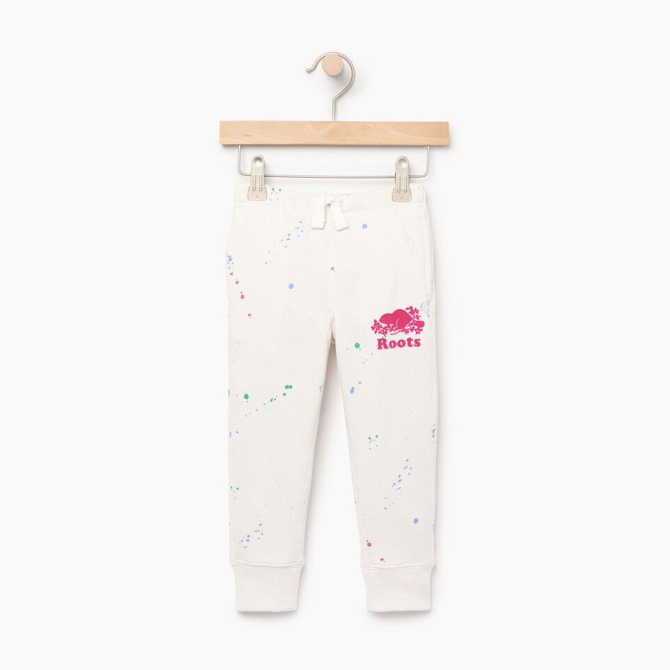 Roots-Kids Our Favourite New Arrivals-Toddler Splatter Sweatpant-Cannoli Cream-A