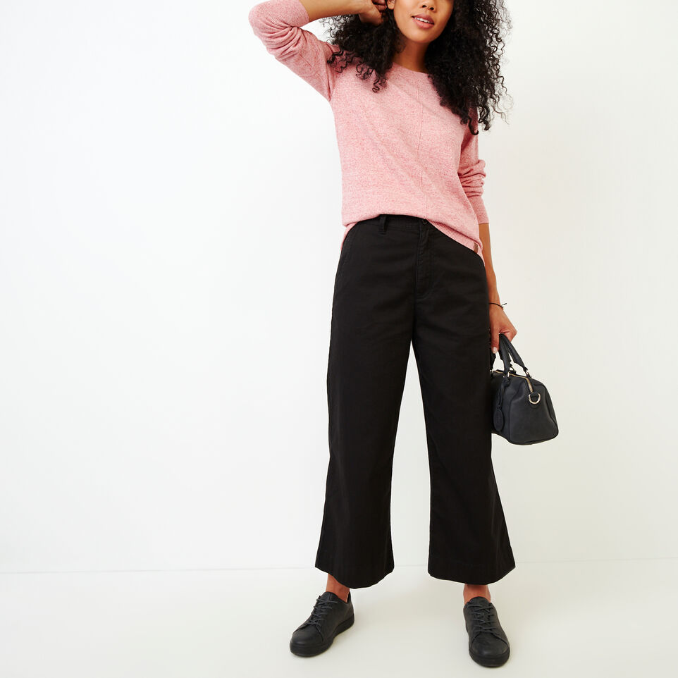 Roots-Women Categories-Widewater Pant-Black-B
