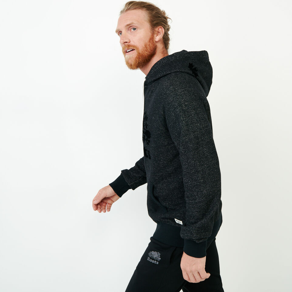Roots-Men Our Favourite New Arrivals-Original Kanga Hoody-Black Pepper-C