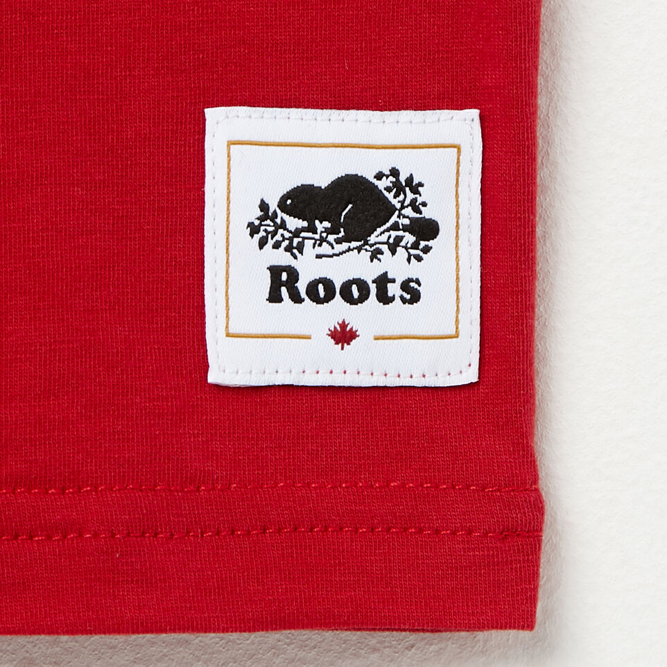Roots-undefined-Boys Canada Colourblock T-Shirt-undefined-C