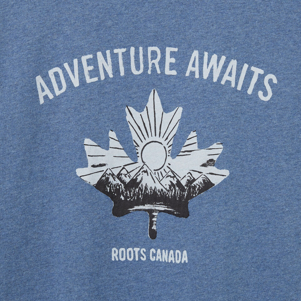 Roots-undefined-Mens Roots Adventure T-shirt-undefined-D