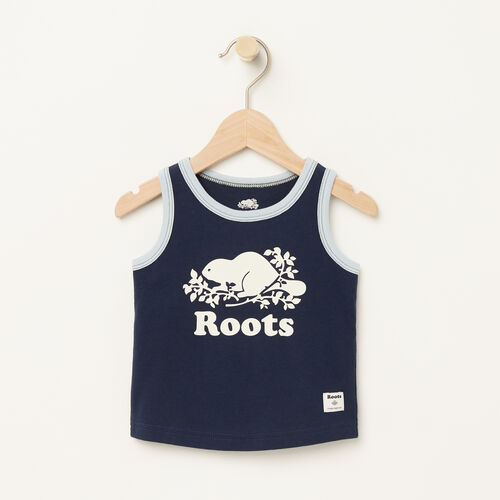 Roots-Kids Baby-Baby Ringer Tank-Cascade Blue-A