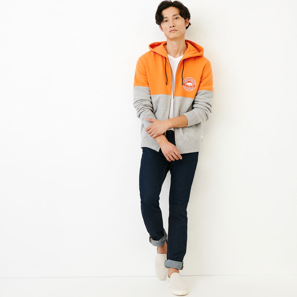 Roots-Men Our Favourite New Arrivals-Athletic Dept. Zip Hoody-Grey Mix-B