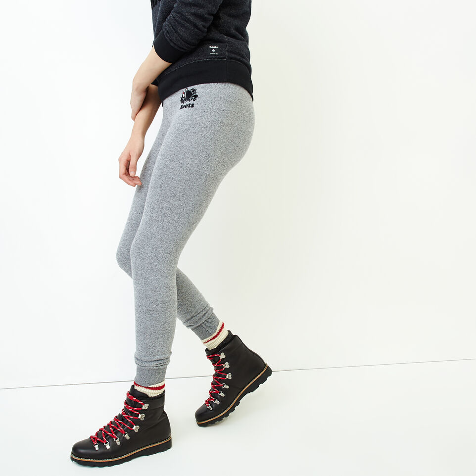 Roots-Women Our Favourite New Arrivals-Buddy Cozy Skinny Sweatpant-Salt & Pepper-C