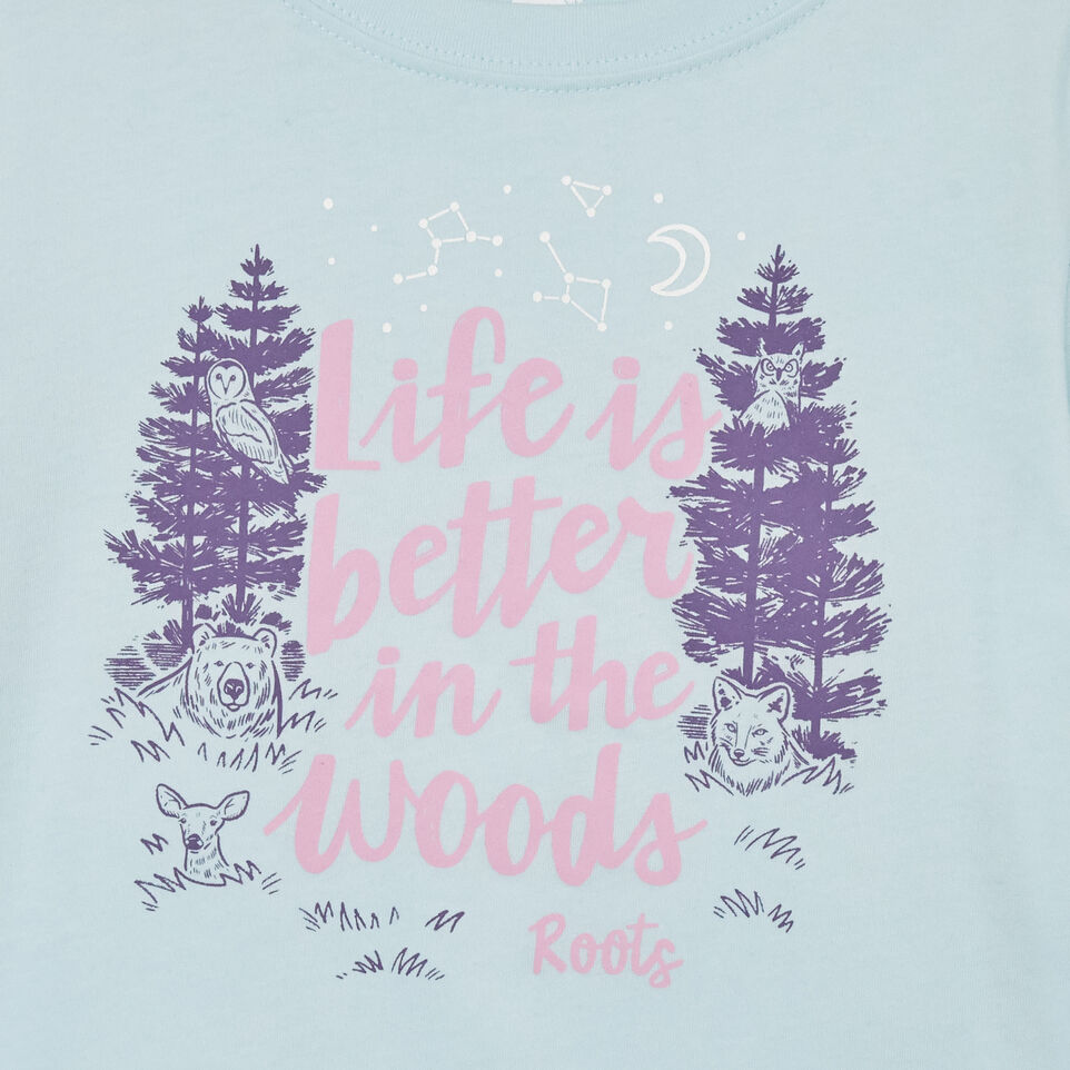 Roots-undefined-T-shirt Life Is Better pour tout-petits-undefined-C