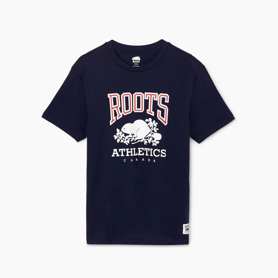 Roots-New For March Rba Collection-Mens RBA T-shirt-Navy Blazer-A