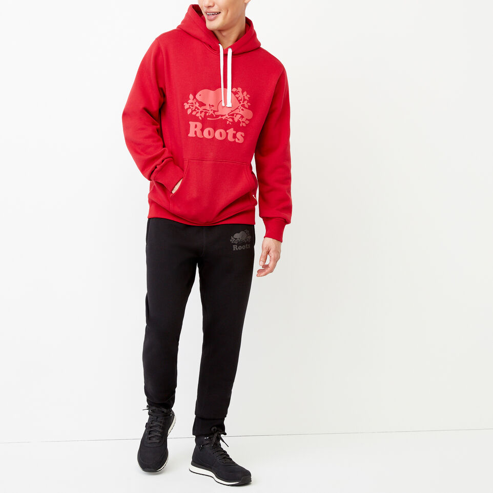 Roots-Men Our Favourite New Arrivals-Cooper Reflect Hoody-Lodge Red-D