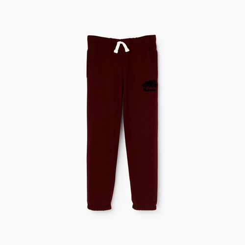Roots-Kids Sweats-Boys Original Sweatpant-Crimson-A
