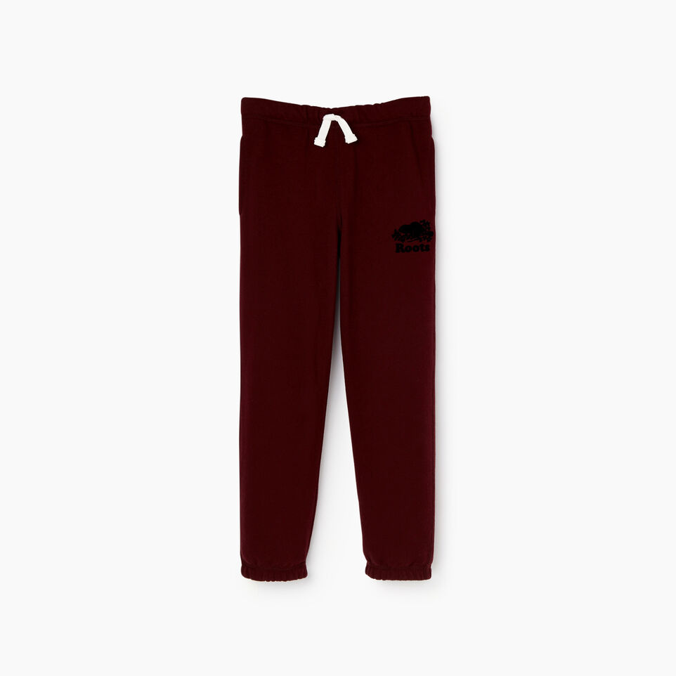 Roots-Kids Our Favourite New Arrivals-Boys Original Sweatpant-Crimson-A