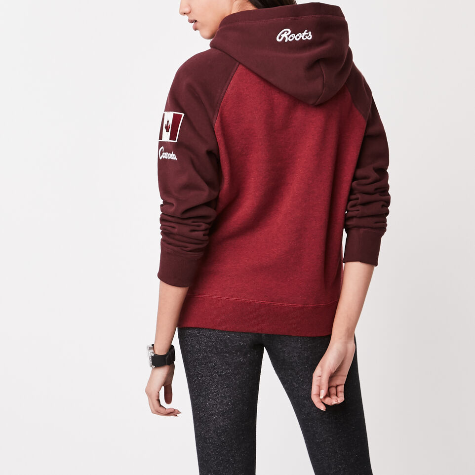 Roots-undefined-Womens Heritage Canada Kanga Hoody-undefined-D