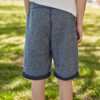 Roots-Kids New Arrivals-Boys Park Short-Navy Blazer Pepper-B