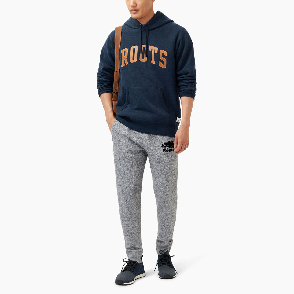 Roots-Winter Sale Men-Roots Arch Kanga Hoody-Navy Blazer Mix-B