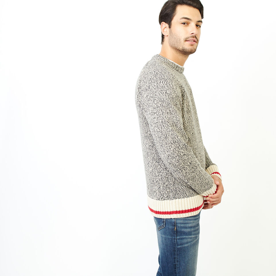 Roots-Men Our Favourite New Arrivals-Roots Cotton Cabin Crew Sweater-Speckle-C