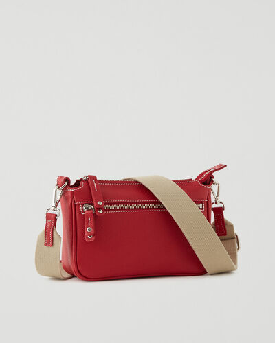 Roots-Leather New Arrivals-Andie Bag 2.0 Cervino-Lipstick Red-A