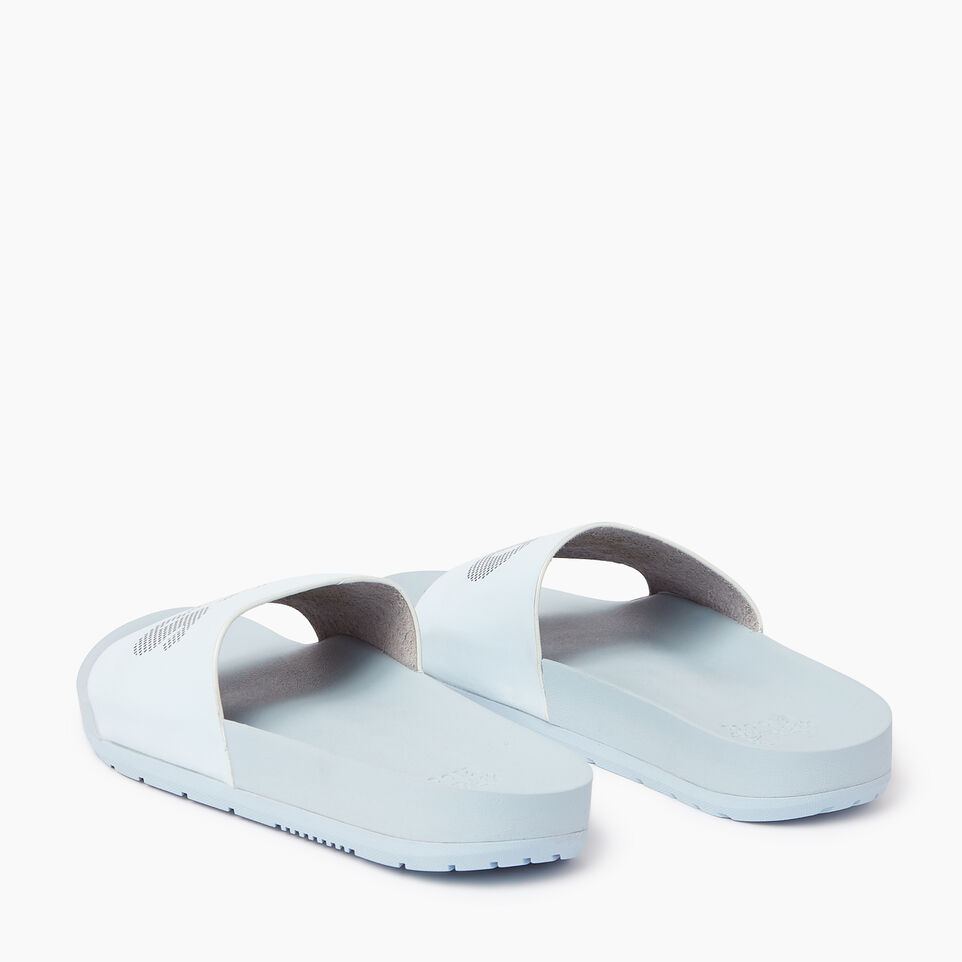 Roots-Footwear Our Favourite New Arrivals-Womens Long Beach Pool Slide-Baby Blue-E