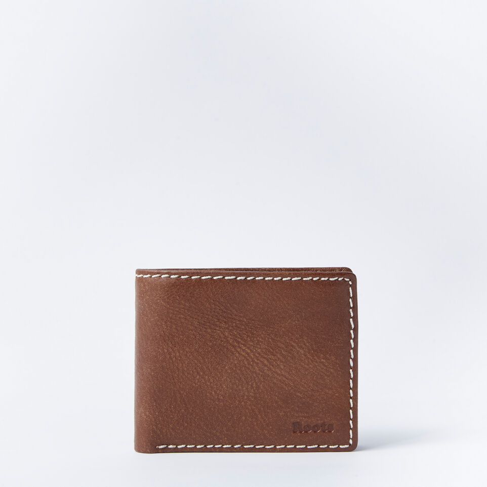 Roots-Mens Slimfold With Coin Tribe