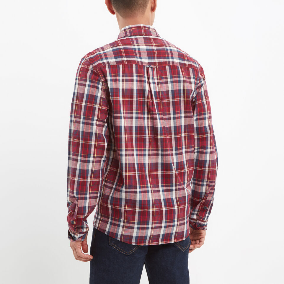 Roots-undefined-Madras Long Sleeve Shirt-undefined-D